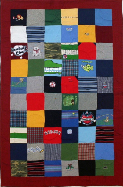 Campus Quilt Co T Shirt Memory Quilt