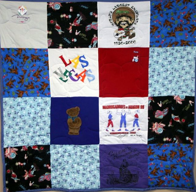 T Shirt Memory Quilt Ideas Campus Quilt Company