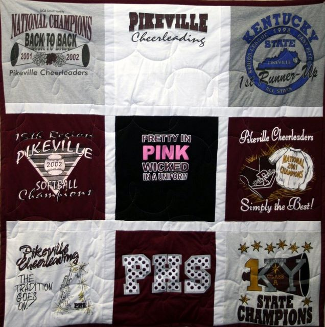 4271b33f9c Campus Quilt Co - T-shirt Memory Quilt