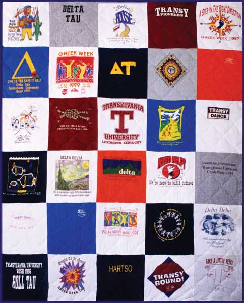 T-shirt Quilt - Campus Quilt Co : making a t shirt quilt - Adamdwight.com